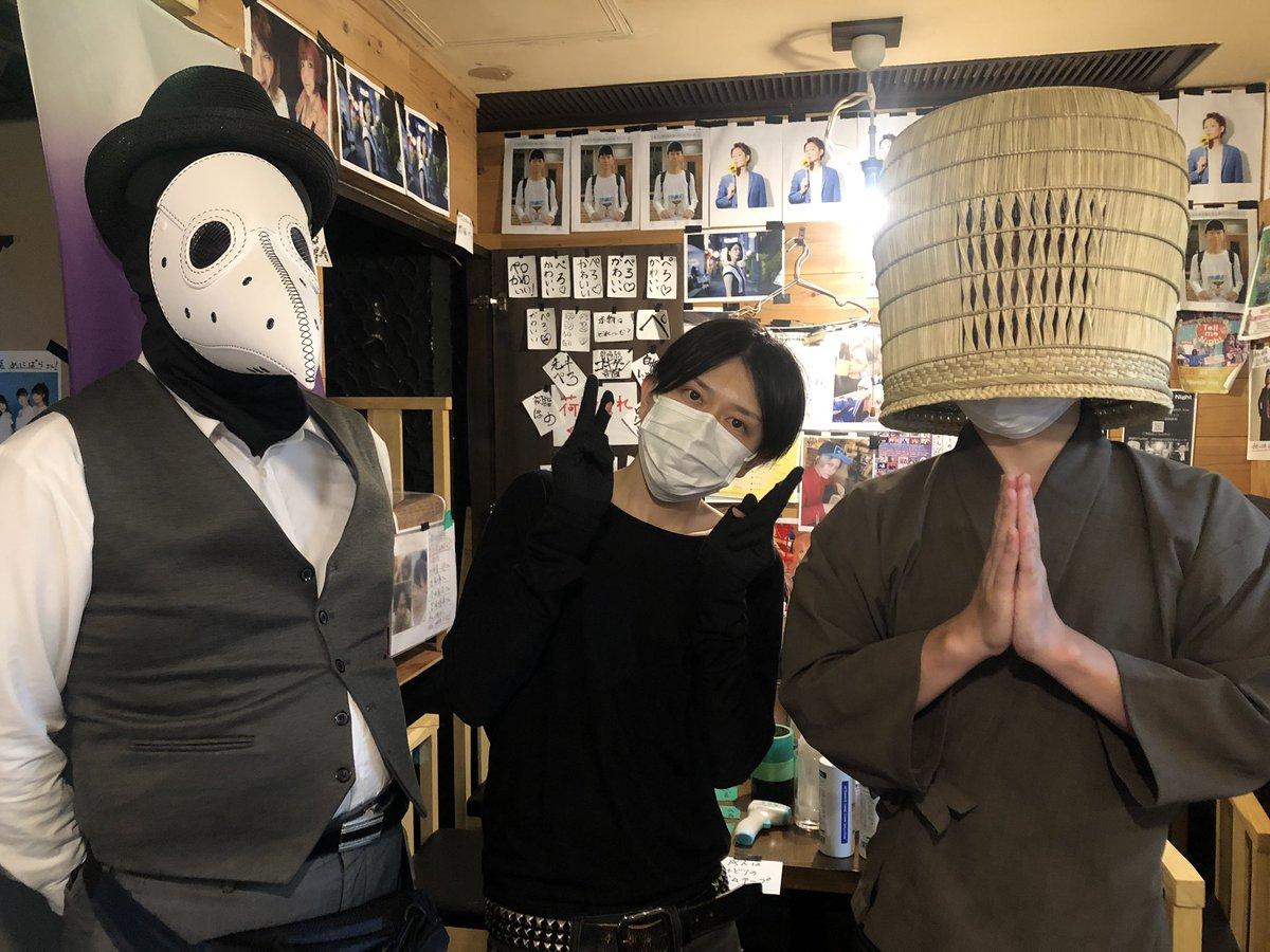 後藤輝樹さんの一日店長終わりました。楽しかったです。左は大田区議会議員のおぎの議員です。