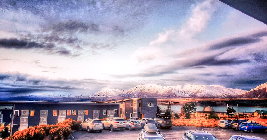 An amazing time in Tekapo working on pitches for my project. #bomaedfellows #bomanz @CHC_Airport https://t.co/Iv7kxvhJ6P