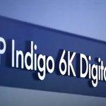 Image for the Tweet beginning: The latest HP INDIGO 6K