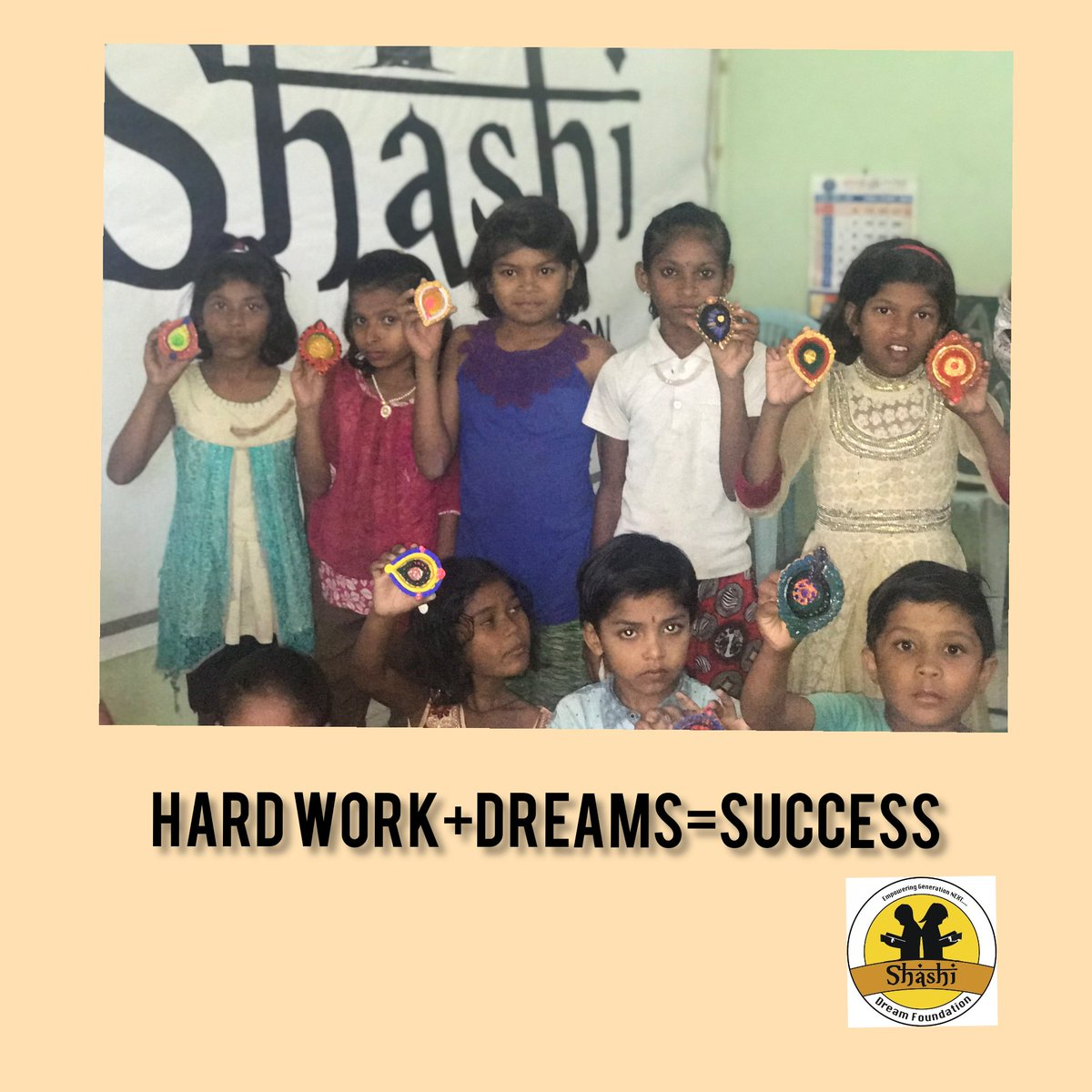 Success is a mixture of hard work and Dreams We, through our initiatives, are trying to make sure that these dreams are not left behind for not so privileged students!  #dreams #success #SocialWork #shashidreamfoundation #sdf https://t.co/7mwaa3s0P0