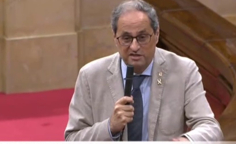 """🔴#ENDIRECTO   Torra, ante los reproches por el brote de Lérida: """"La culpa es de Madrid, evidentemente"""".  https://t.co/equoyeCS6X https://t.co/O0ODYzJqGE"""