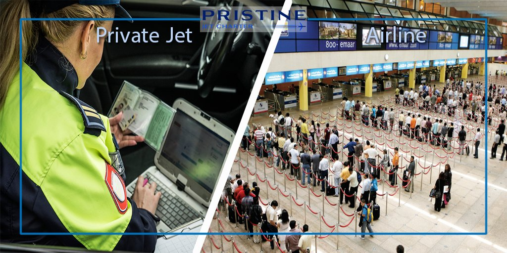 Going through customs in a private jet terminal is a more intimate experience.  #privatejets  #businessaviation #aviationworld #privatejetlifestyle #flyprivate  #PristineJetCharter #PrivateJetCharter #AircraftCharter  #Stay_safe https://t.co/365oo5PkdP