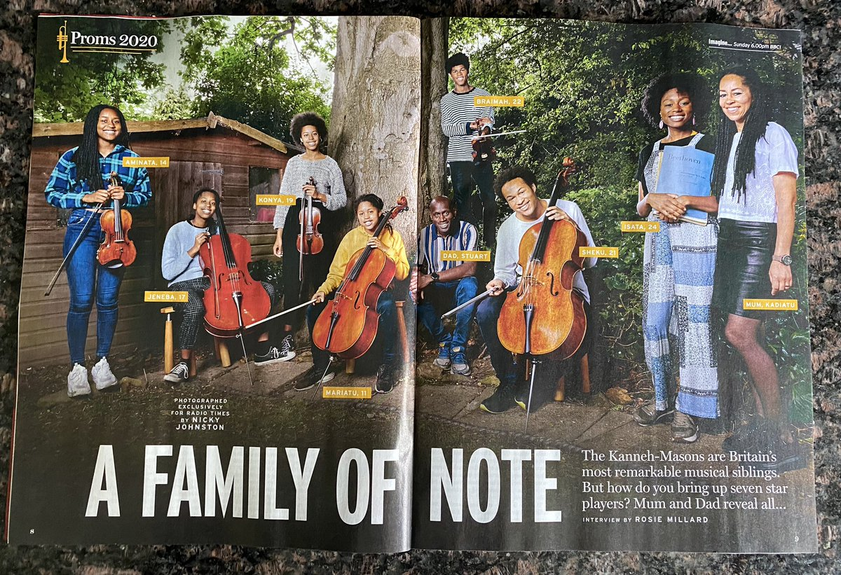 #familygoals   Looking forward to 15 minutes of me time to enjoy reading this fabulous article about @thekannehmasons in this week's @RadioTimes   What a beautiful photo. pic.twitter.com/WF8ldDK0CA