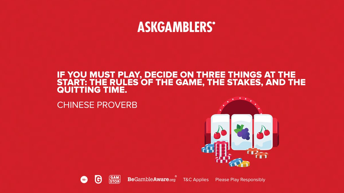 This Chinese saying might be old but it is very much applicable today.   #AskGamblers #GetTheTruth #playsafe #slotgames #bestslotgames #bestslots #slots #onlinegames #igaming #onlinecasino #casino #casinos #casinolife #casinotime  #gambling #onlinegambling #quoteoftheday #quotes https://t.co/n2ZR3jgy8d
