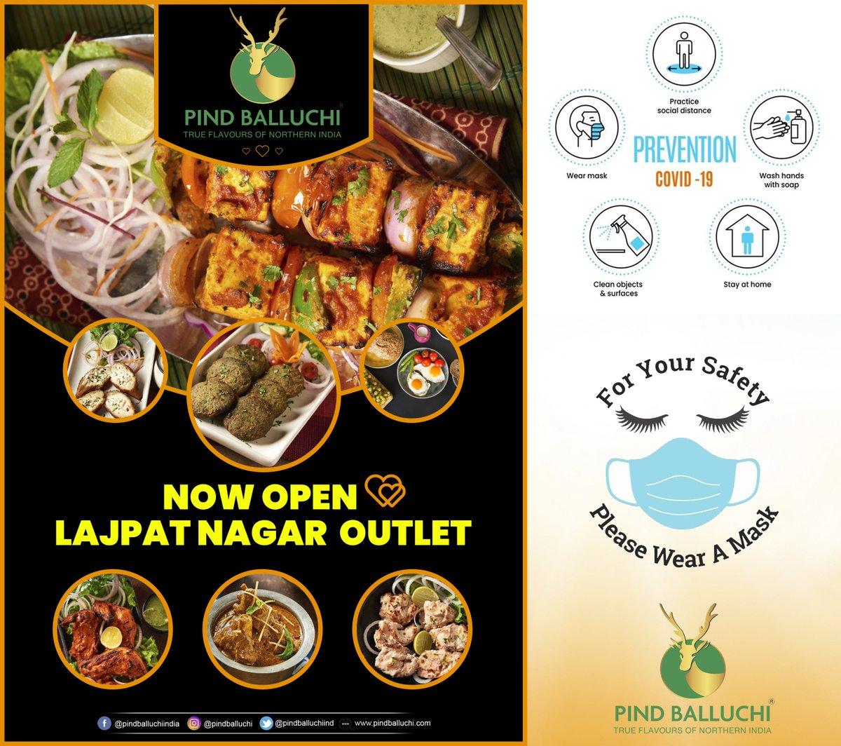 Now Open Lajpat Nagar #food #foodie #vegetarian #healthyfood #healthyfoodie #eatwell #veganrecipes #familytime #indianfood #healthyfoodlover #OrderOnline #PindBalluchipic.twitter.com/Uyvceb4nhe