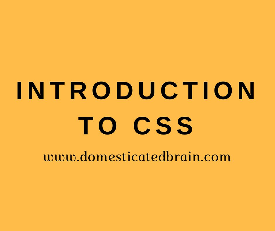 Introduction to CSS  Link - https://bit.ly/2Njf3Dw  #100DaysOfCode #CodeNewbies #learntocode #coding #codinglife #programming #Webdesign #HTML5 #CSS3 #webdev   Recommended readings   Web Design with #HTML , #CSS , #javascript and #jQuery Set ORDER HERE - https://amzn.to/2O8yxfa pic.twitter.com/aQXZ6lXCgb