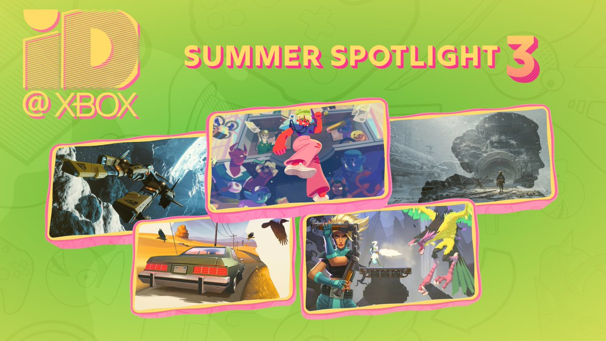 Summer means games.  Not, like, in a dictionary. But for the purposes of this post.   Anyway, watch the third @ID_Xbox Summer Spotlight https://t.co/7IX4oGEfix https://t.co/iANupnE7g5