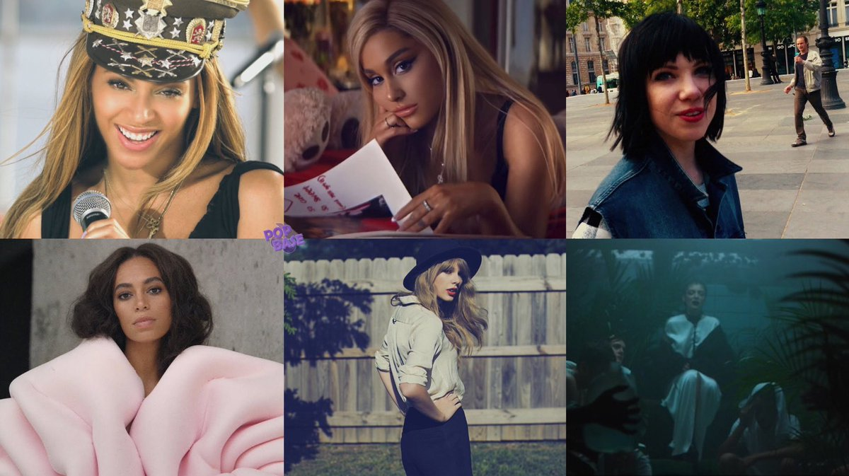 Best female songs of the 2010s (according to UPROXX):   #1. Beyoncé — Love On Top #2. Ariana Grande — Thank U, Next #3. Carly Rae Jepsen — Run Away With Me #4. Solange — Cranes in The Sky #5. Taylor Swift — All Too Well #6. Lorde — Team <br>http://pic.twitter.com/oTDYciIJkE