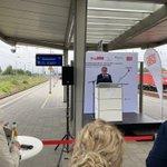 Image for the Tweet beginning: Endlich🛤🚆! Bahnstrecke #BerlinStettin wird zweigleisig
