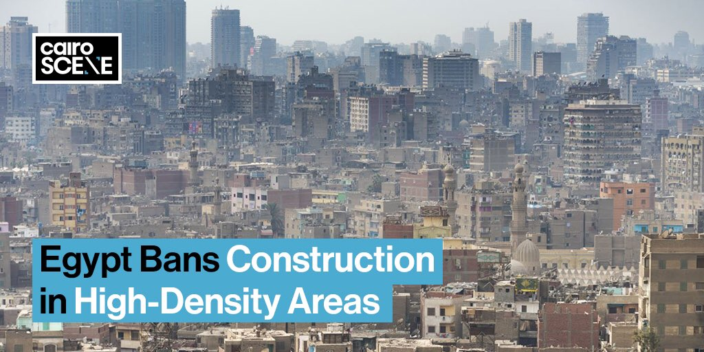 Prime Minister Mostafa Madbouly has declared that those who want crrate new buildings can only do so in new cities, although the state will still allow people in less populated areas to build new homes with a set maximum height of four or five stories.  https://t.co/jKjczyicBf https://t.co/dDDNyMKN3y