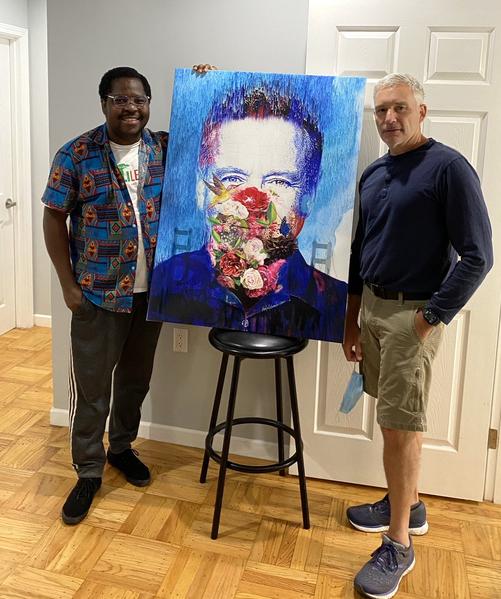 Thank you @victorvalcour @GBHI_Fellows @atlanticfellows for giving me the wings to fly.   Portrait Painting of Robin Williams 2/2,  Mixed Media  2020 @exchangealumni @StateDept @WashFellowship @IREXintl @CultureAtState @CreativeAgeIntl @GHDatState @alzassociation @AlzAdvocateCA https://t.co/THJM4yl85G
