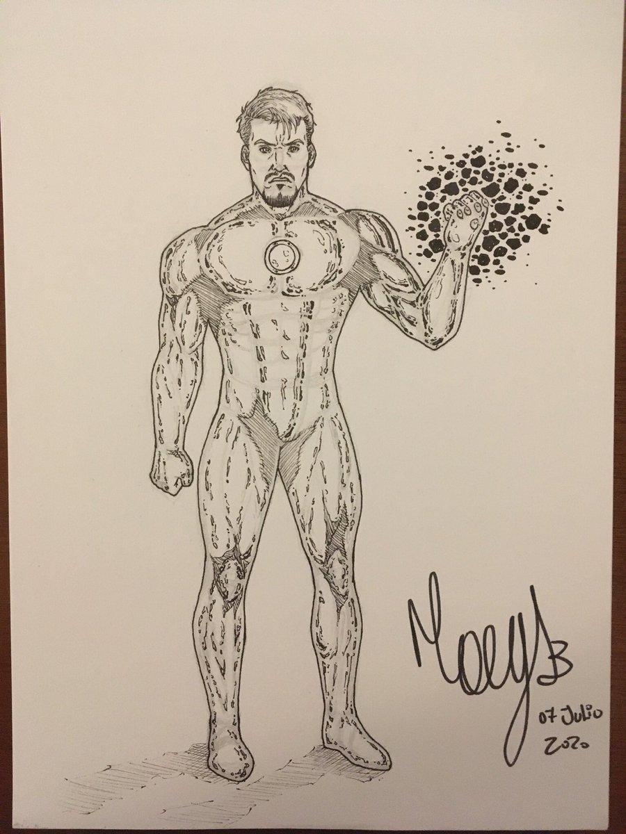 Iron Man!! #ironman  #marvel  #marvelcomics  #fanart  #sketch  #pencilsketch  #InkDrawing  #practicedraw  #9thjuly  #postdehoypic.twitter.com/eQGDI6WnDm