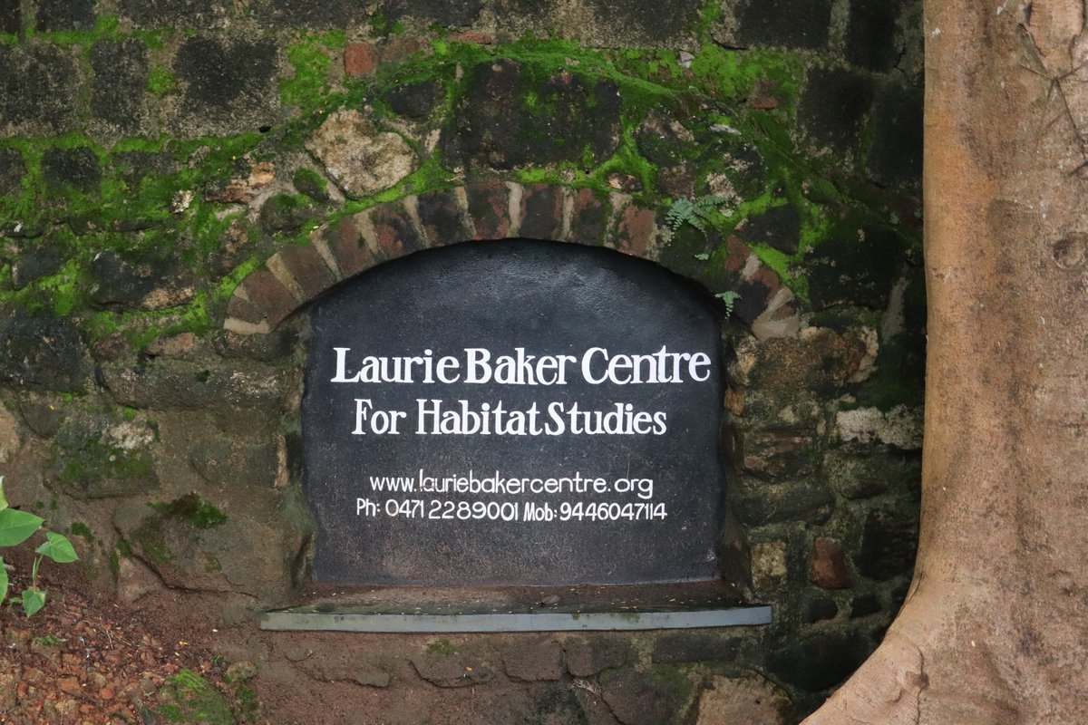 The British-born Indian architect, Laurie Baker, known as the 'Gandhi of architecture', gave India low-cost building design with maximum efficiency and just the right amount of aesthetics. Our students' visit, last year,to the Laurie Baker Centre to attend a workshop.... <br>http://pic.twitter.com/4txVo51Tir