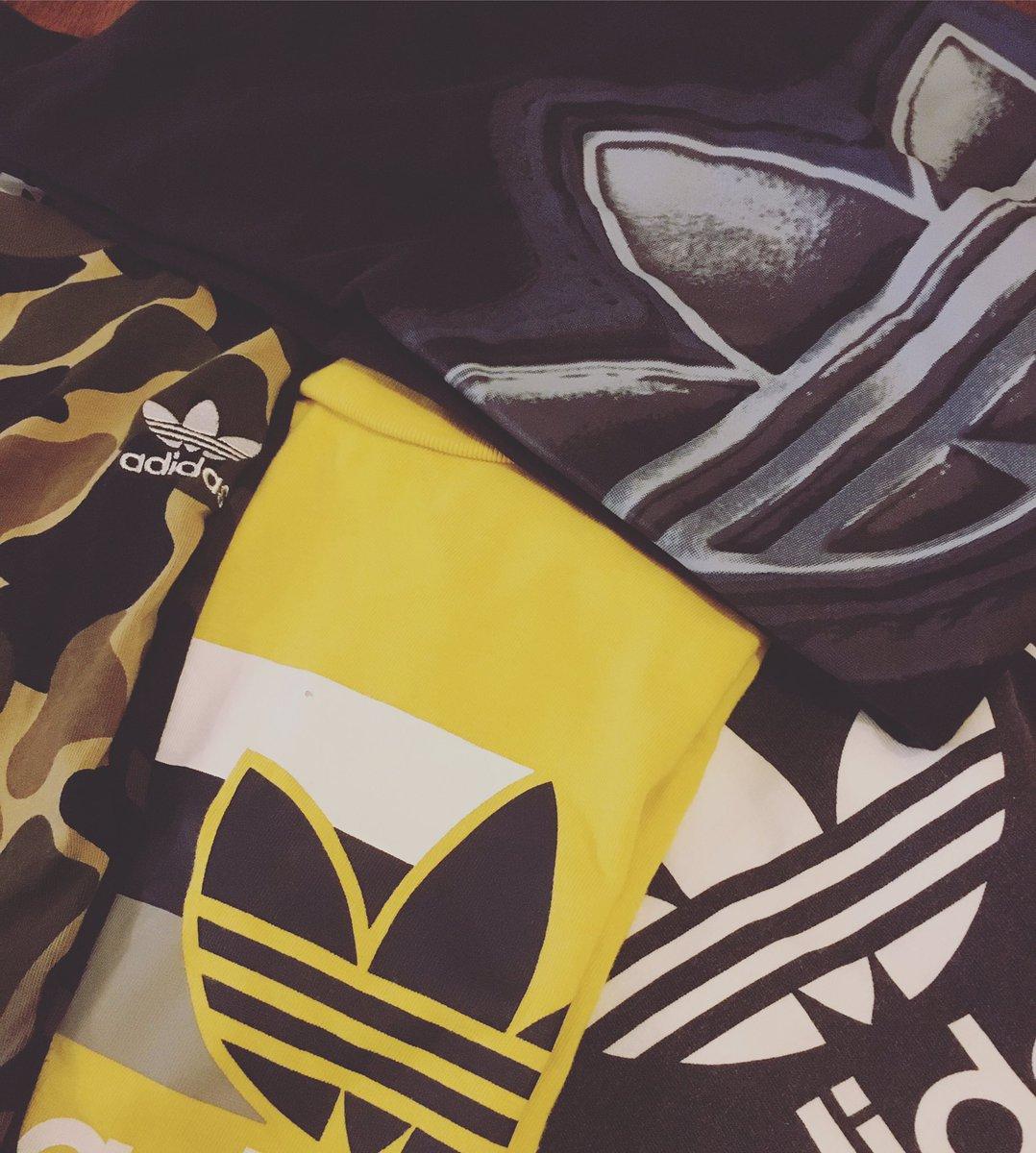 今日もガンガン新商品出してます🐼✨  アディダスアイテムも各種大量に入ってきましたよ〜🙄🙄  いよいよ夏の暑さも本格的になってきたので、これからに向けて是非ご覧になってみて下さい🙄✨  #SLADY_ASAHIKAWA #古着 #vintage #ファッション #オシャレ  #ストリート #アディダス #Tシャツ