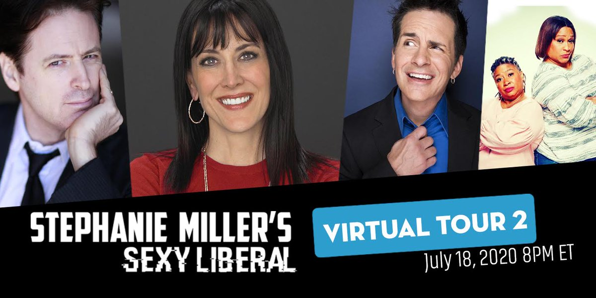 Sexy Liberal Virtual Tour 2 tickets for next weekend are now on sale!  It will be an ALL-NEW show with very special surprises!!  Get your tickets now at  !  @HalSparks @JohnFugelsang @frangeladuo #SexyLiberal