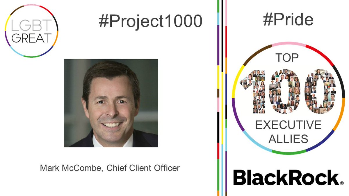 """Now, more than ever, we must double down on inclusion and diversity, which is woven into BlackRock's DNA and purpose, and critical to our own resiliency"" - Mark McCombe, Chief Client Officer, @blackrock #Project1000 #Pride #YouMeUsWe https://t.co/h4zmZbRJwZ https://t.co/7lQonWV4F6"