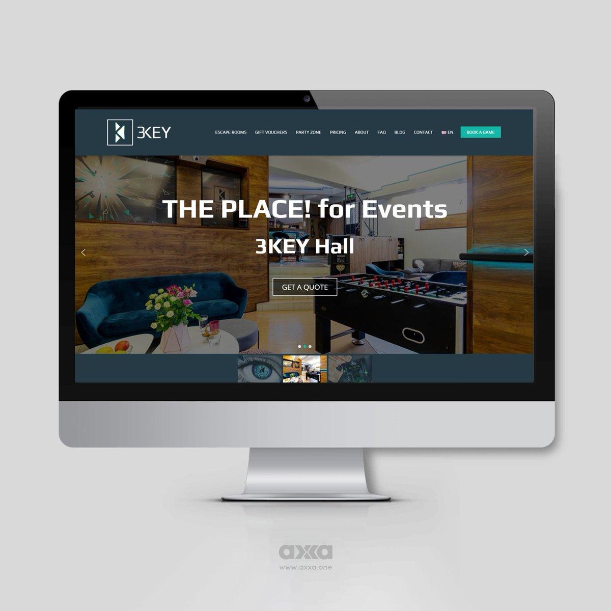 #3KEY #website #redesign #homepage – #desktop version in English.  #axxastudio #whyaxxa #axxawebdesign #webdesign #webdesigner #landingpage #newwebsite #pagedesign #uxdesign #homepage #ui #ux #customerexperience #webdevelopment #seo #onpageseo #webspeed #sslcertificate #wordpresspic.twitter.com/uwly6QegzT