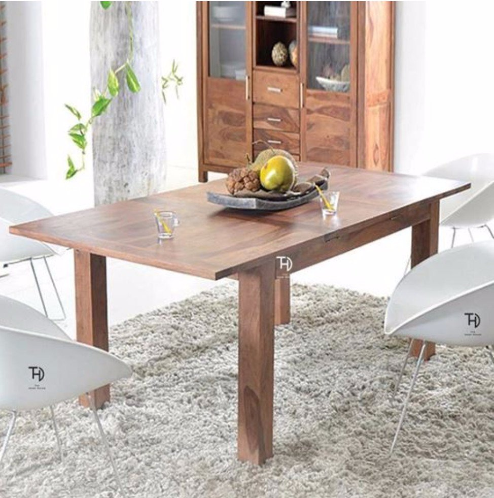 Smartly designed the #extendable wooden top to adjust the length of this #beautiful #dining.  Visit to buy:   #furniture #antique #royal #handmade #modernfurniture #luxury #designer #interiordesign #vintage #decoration