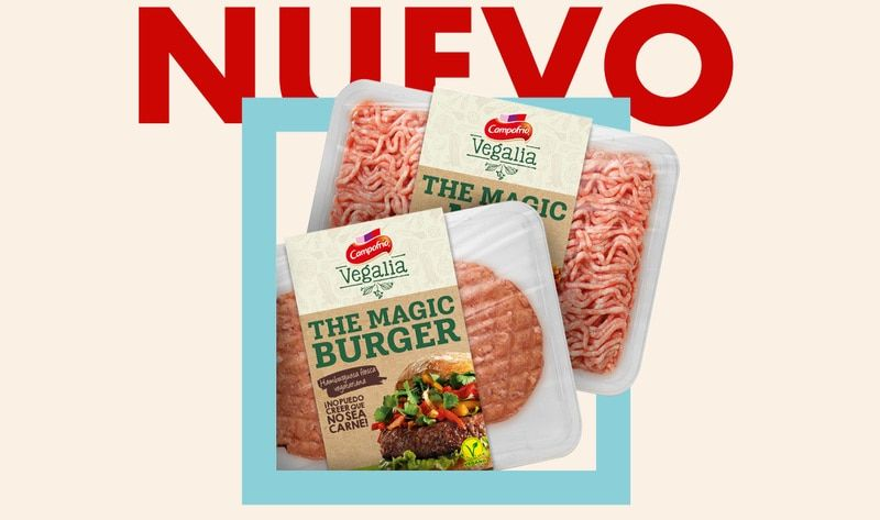 """SPANISH PORK GIANT LAUNCHES """"MAGIC"""" VEGAN BURGERS  Veganism is taking over the conventional diet, eating habits and food industry at full speed and we couldn't be happier.   #VeganPork #MockMeat #VeganBurgers #Plantbased  #TheGreenGoodFood #Plantmade  https://buff.ly/2ZtVBtMpic.twitter.com/B3WRNENC4Z"""
