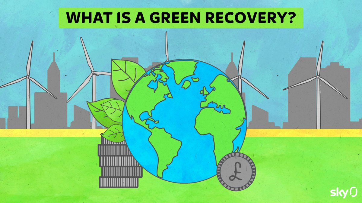 As lockdown measures are eased, what could a #GreenRecovery mean for our earth and economy? Reply below with the sustainable initiatives you'd like the UK to invest in👇 https://t.co/9093iTZX4G
