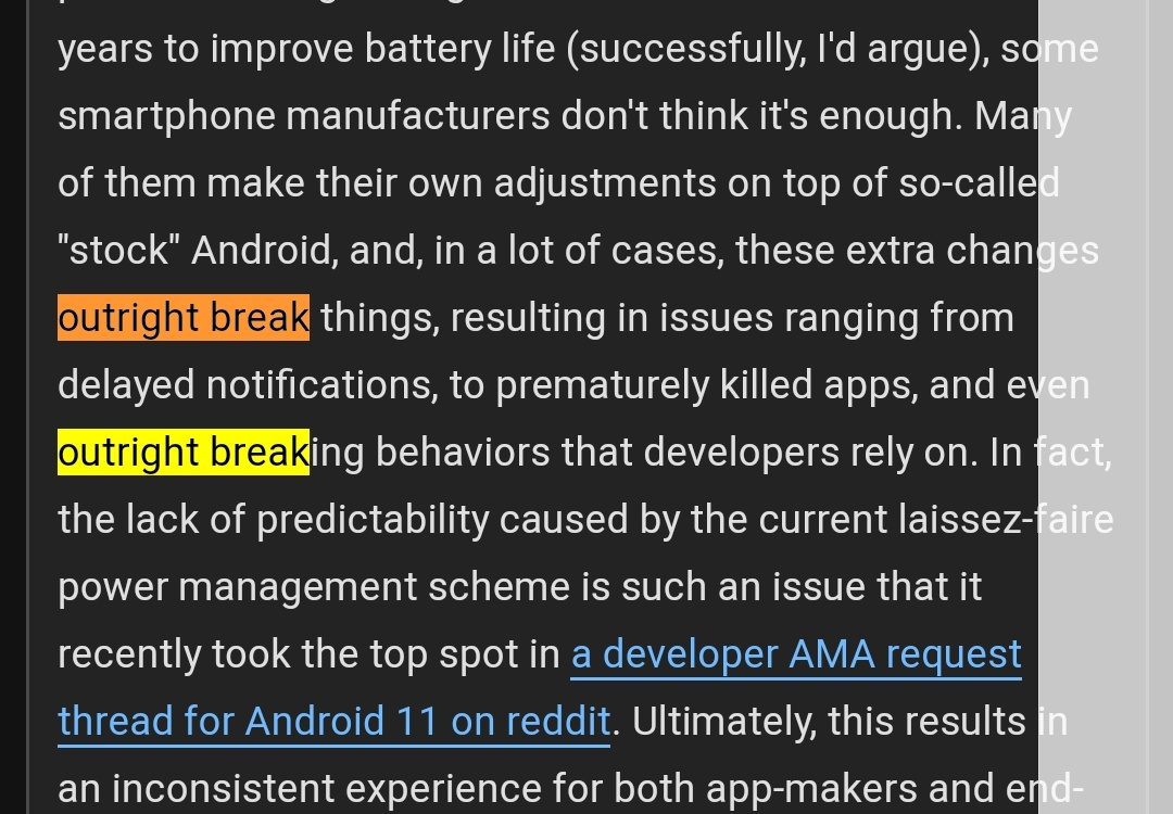 Really good article and it's something I've noticed and tried to tweak on my OnePlus. This hurt my brain to read though pic.twitter.com/moP3ac0GRn