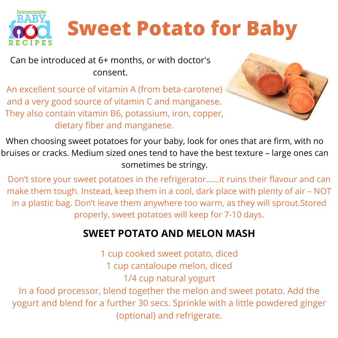 They are nutritious, delicious and babies love them! Find out more about introducing sweet potato to your little one -->> https://www.homemade-baby-food-recipes.com/sweet-potato-baby-food-recipes.html… #sweetpotato #babyfoodpic.twitter.com/fMLZJsDO1S