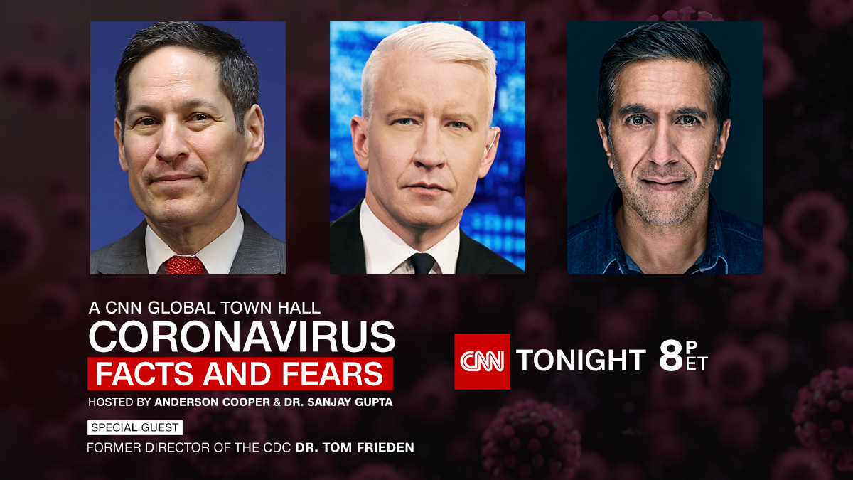 Why do you think coronavirus cases are spiking? Former CDC Director @DrTomFrieden joins @AndersonCooper and @DrSanjayGupta for a new #CNNTownHall - Coronavirus: Facts and Fears. Tonight at 8 p.m. ET