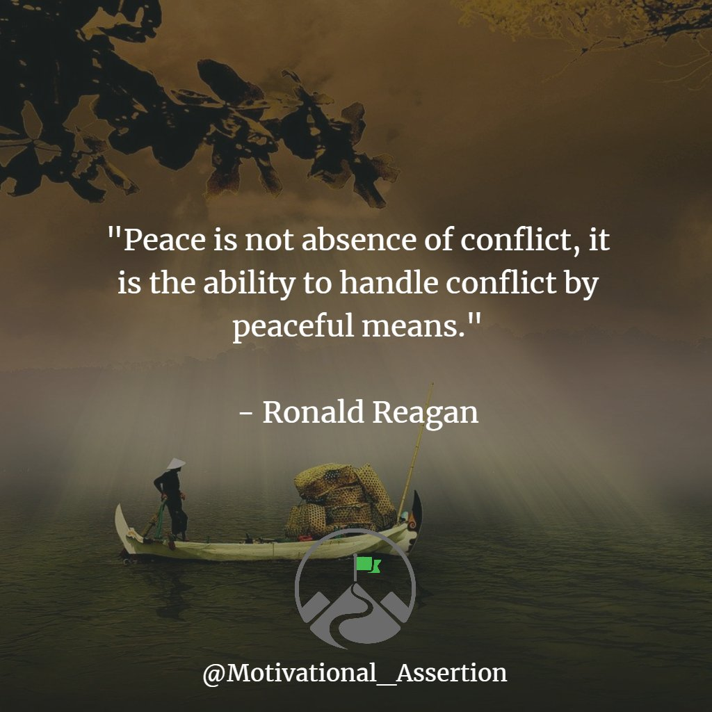 """""""Peace is not the absence of conflict, it is the ability to handle conflict by peaceful means""""  Type """"YES"""" if you agree!⠀ ⠀  Tag begins :⠀ ⠀ #mindsetcoach #millionaire_mentor #successminded #businessadvice #quotesaccount #successtips #businessquotes #peacefulpic.twitter.com/2IbYSVmzw7"""