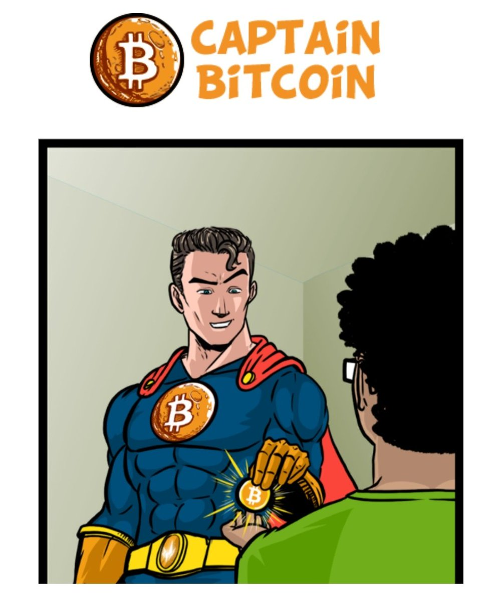 """Captain Bitcoin Airdrop  Reward : up to 0.25 BTC + 2000 CAPT Token   Join:  http:// bit.ly/Cap_Bit       Signup on Captain Bitcoin click """"get started""""  Sync a Metamask (trust wallet browser) to your account  Watch videos earn crypto  @cctip_io airdrop 8000000 CRU 80 <br>http://pic.twitter.com/iijS5fSwTN"""