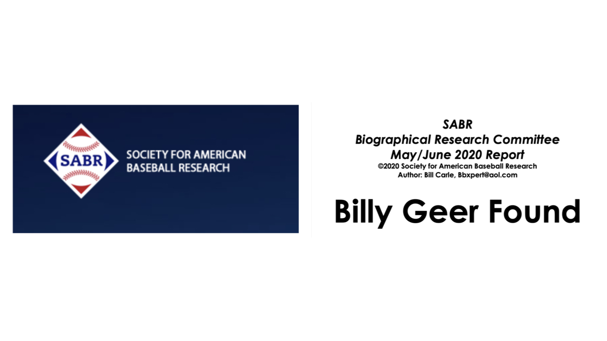 All SABR Biographical Research Committee data in May / June 2020 Report has been integrated into #BaseballAlmanac: THE BALLPLAYERS : A BASEBALL PLAYER ENCYCLOPEDIA []. Download their #AMAZING research []. #SABR ❤️⚾️