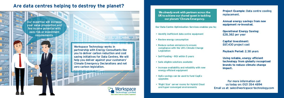 test Twitter Media - Workspace Technology works in partnership with Energy Consultants like you to deliver carbon reduction and cost saving initiatives for Data Centres. https://t.co/icdzOxEy6t