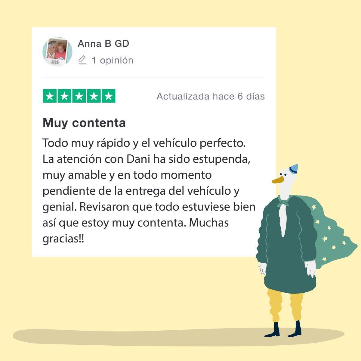 Igual que Ana, muchos habéis apostado por el #Renting de #Amovens y no podemos estar más felices 😍🤟 https://t.co/Fu4vZIu0eC