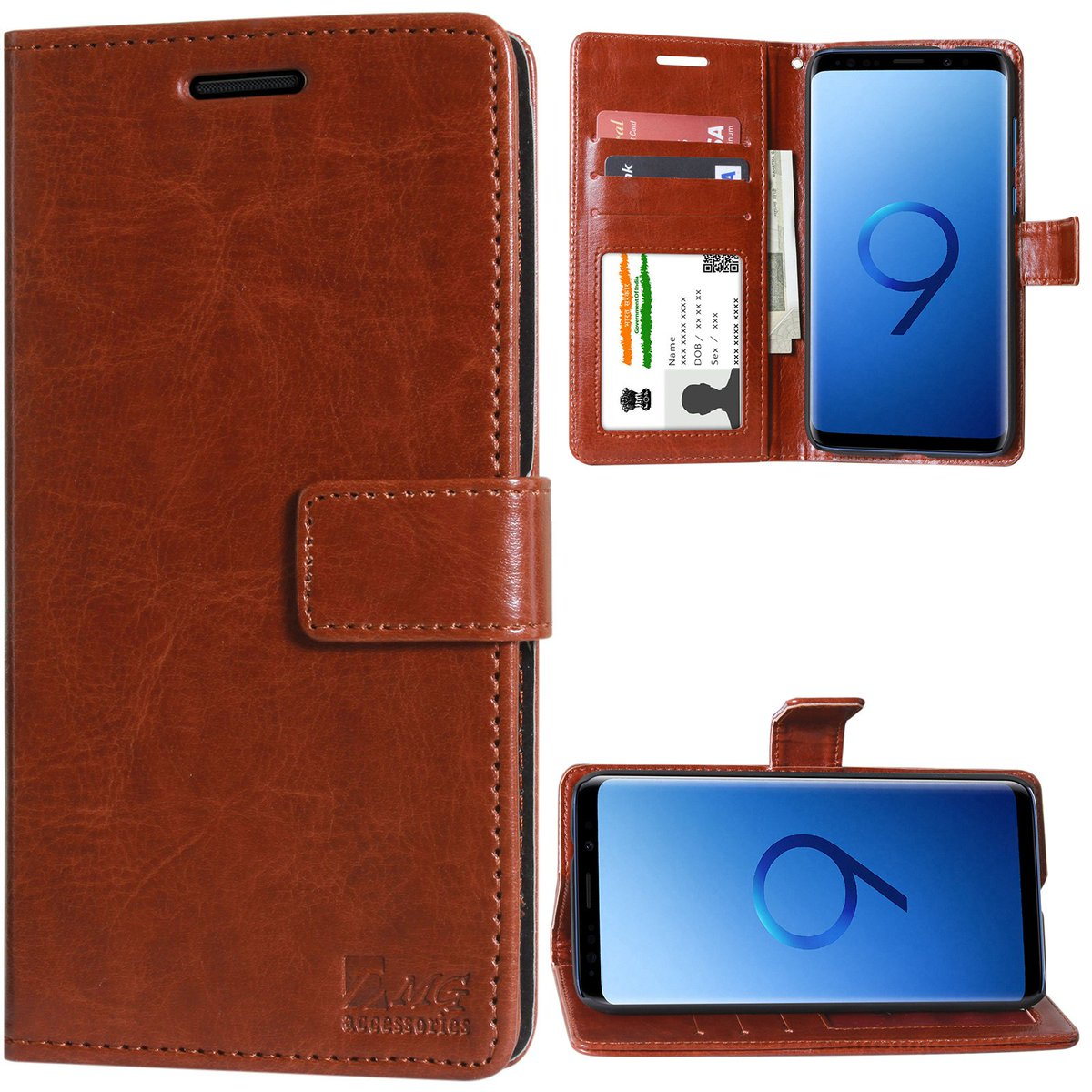 Samsung Galaxy S9 Leather Wallet Flip Cover Rs.  499 https://pooo.st/inx4A pic.twitter.com/dCtKLq1GTh
