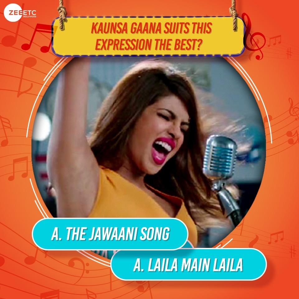 Kya lagta hai aapko, which song is Priyanka jamming on? Comment below.  @priyankachopra #Bollywood #BollywoodSong #BollywoodMovie #bollyfanspic.twitter.com/hjs8MApYzz