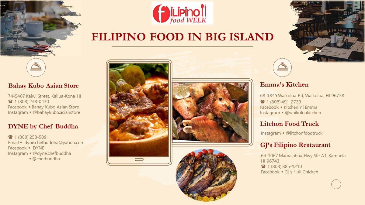PH Consulate General in Honolulu Encourages Organizations to Support Local Filipino Restaurants: https://t.co/6I7lYeCMm2  #FilipinoTakeoutTuesday  #GastroDiplomacy #CulturalDiplomacy #HeritageDiplomacy #DFAinACTION https://t.co/aZkfNXrap3