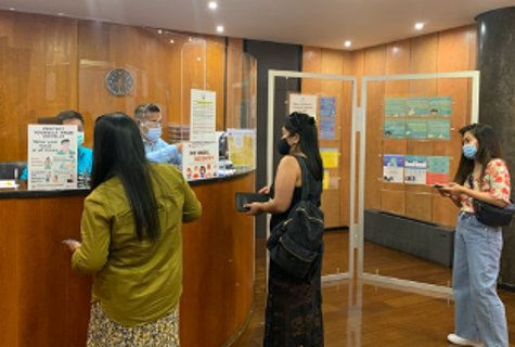 PH Embassy in Lisbon Resumes LinggosaEmbaixada for Consular Applicants: https://t.co/s0vDm73Ykb  After three-months of hiatus in operations, the Philippine Embassy in Lisbon resumed its regular first Sunday of the month LinggosaEmbaixada activity on 05 July 2020.   #DFAinACTION https://t.co/ReINkyf7B7