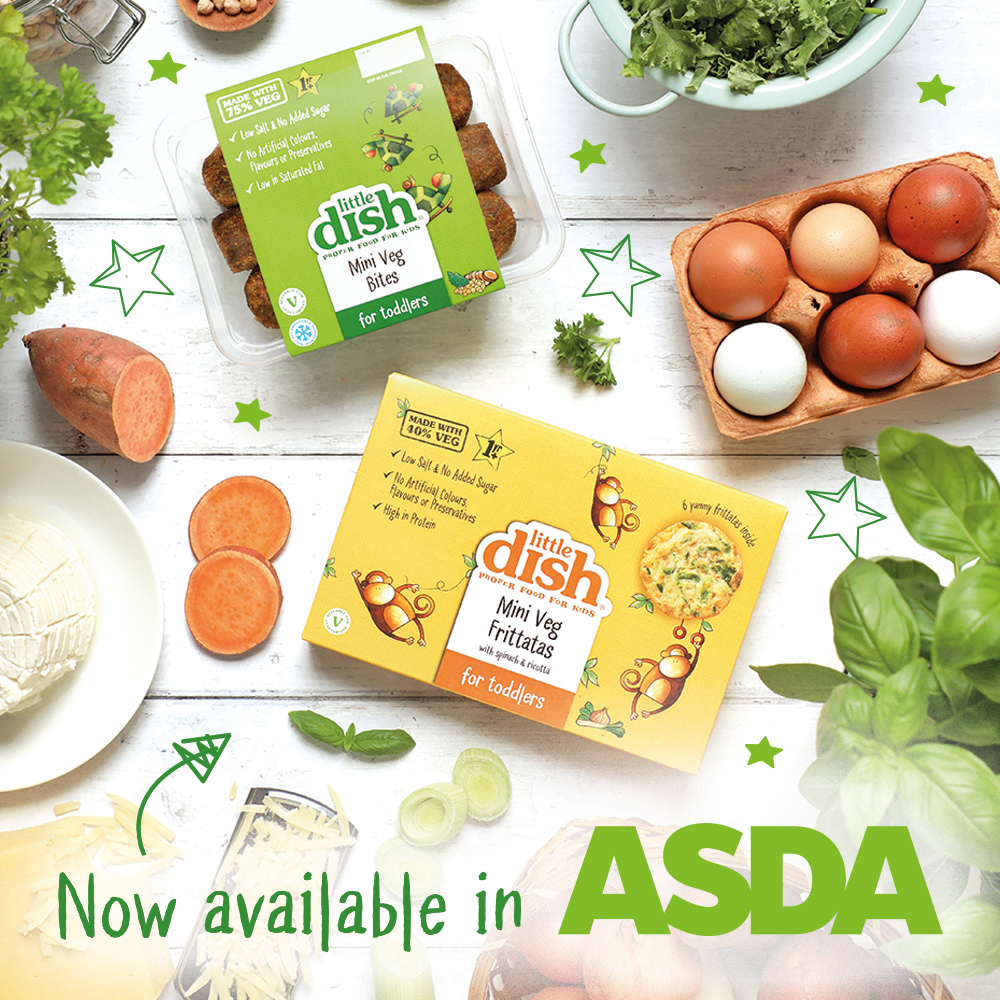 We're very excited to announce our new plant powered, 100% natural Finger Foods 🥬 - on sale now @asda.💥 Head to the chilled aisle now to find them, and get £1 off with this special voucher: https://t.co/5Cg6DBw70u #BLWideas #littledish https://t.co/77YVIYgZcy