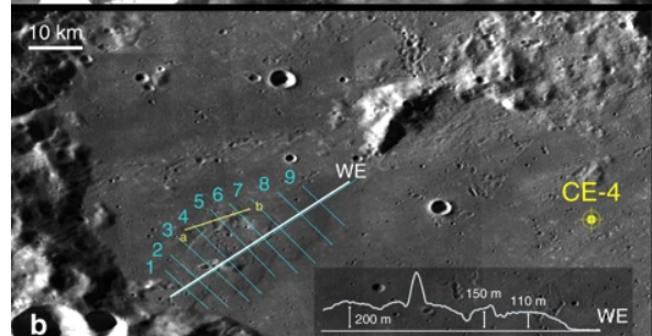 Take a look at the intrepid Yutu-2 rover's first peek of the Von Karman Crater on the far side of the moon https://t.co/JlKhjZzshs https://t.co/m2fAJwuixe