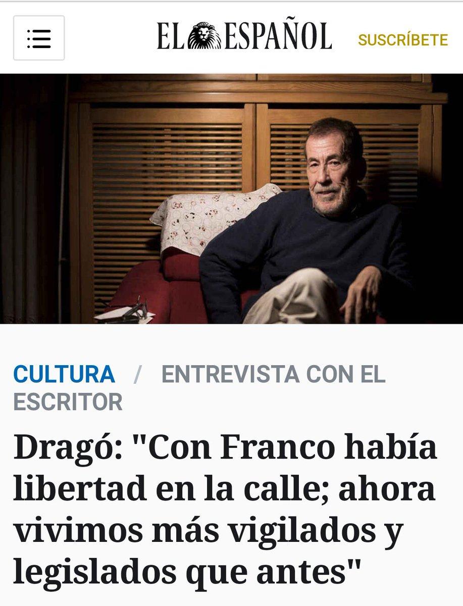 Verás como ponen los rojos a Sánchez Dragó por esta declaración..... https://t.co/u9byhzb4nw