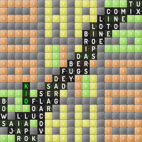 Stephanie played today's #2 #RarestWord: OFLAG for 26pts, def'n at https://t.co/oRiNOwv7k0 #game #scrabble #playmath https://t.co/cjdR3T0pTI