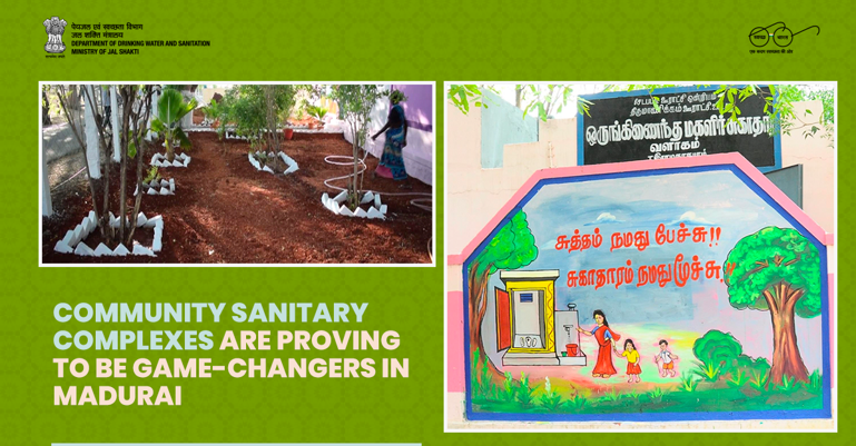 As many as 13 model community sanitary complexes (CSCs) have been set up in rural Madurai, #TamilNadu. These model #CSCs are taken as an inspiration for constructing over 115 CSCs across the district. Read: https://t.co/PvttmP2NFu   #SwachhBharatMission #IndiaFightsCorona https://t.co/oM2vaiXKwE