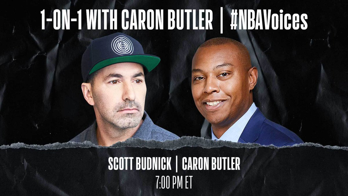 Tune in tonight at 7:00 PM ET on @NBA as Caron Butler (@realtuffjuice) sits down 1-on-1 with One Community CEO Scott Budnick to discuss the #PlayForJustice program, listening to stories of incarcerated young people of color, and the movement for racial justice. #NBAVoices https://t.co/9b3TUCv4xY