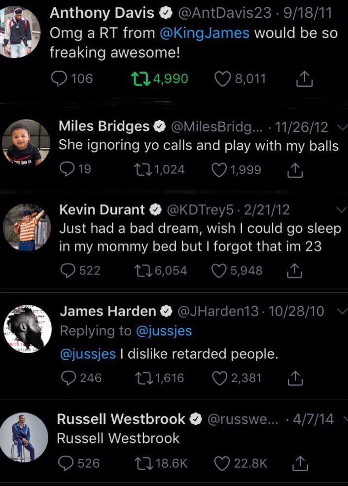 Nba Twitter was a different place 10 years ago https://t.co/UuE6W4lsjL
