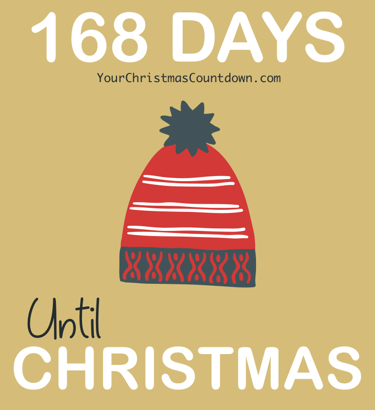 168 DAYS UNTIL #CHRISTMAS! 👇👇 Count down to Christmas with us at 🕒 https://t.co/08kJVAWqc2 🎄🎅 https://t.co/VgEE2jclFN