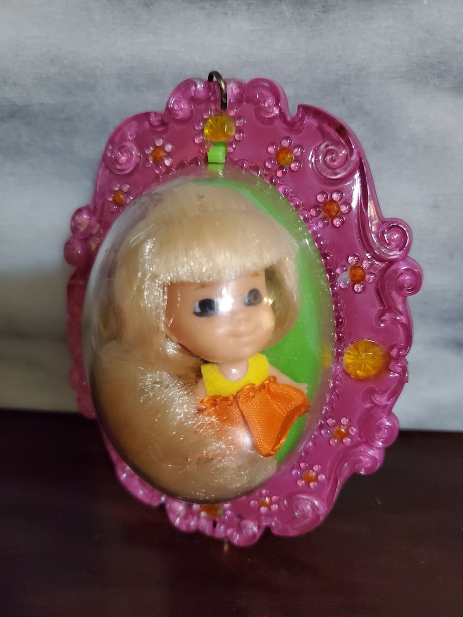 Excited to share the latest addition to my #etsy shop: Vintage Lucky Locket Laverne Liddle Kiddles Doll, toy by Mattel 19683,#3718,blond,Collectible,1960s,girls locketPretend play,made to wear https://t.co/ZdgS3M1xNt #orange #birthday #christmas #yellow #collectible #l https://t.co/MkqPxgfKfc