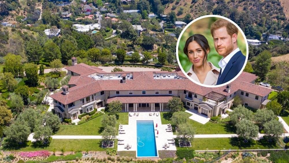 This is the Hollywood mansion that unemployed millionaires Harry and Meghan lectured the world about how uncomfortable inequality makes them : ) https://t.co/TQ9tEpaqnE