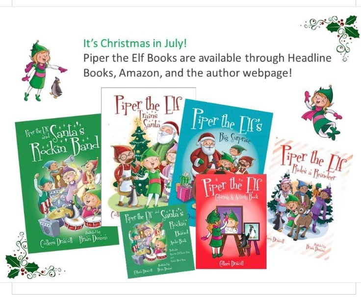 What a great way to celebrate Christmas in July! https://t.co/P6GqJy9VHY #Christmas #ChristmasInJuly #christmastraditionsandme #ChildrensBooks https://t.co/jzFanjNXyF
