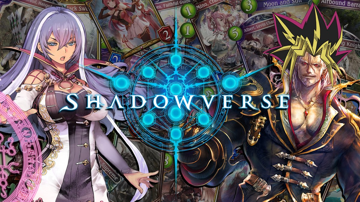 Seriously though, I hope you give Shadowverse a try. I need more friends who understand the pain of playing against the current Item Shop Rune Deck.   Please join us. We have good Waifus I swear. 👇👇 https://t.co/KWCzKShjVt #ad https://t.co/4s2cJ9JpNy