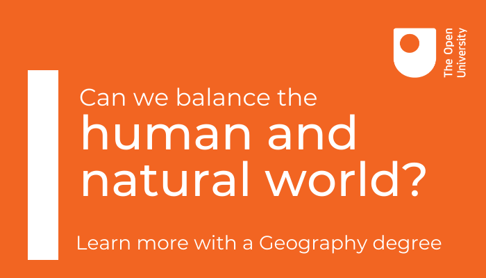 🔍 Looking for a single honours Geography degree? Develop your understanding of the relationships between human and natural environments with a BA (hons) Geography from @OU_FASS. Find out more: open.ac.uk/courses/geogra…