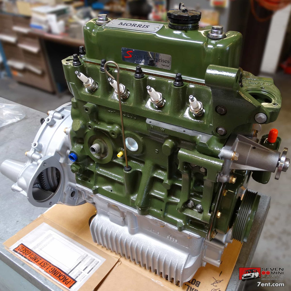 Seven-rebuilt classic Mini 1275 MPi (multi-point injection) - how many differences can you spot between this and an earlier-type engine? | https://t.co/gToiSUauMQ  #classicminiengine #SevenMachineShop #classicminiparts #SevenMiniParts #classicmini #classicminis #mini #minis https://t.co/SHL3IY7vgc